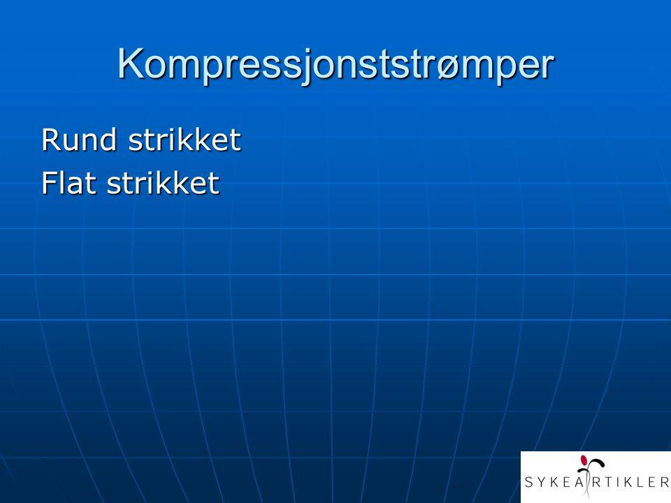 Kompressjonststrømper