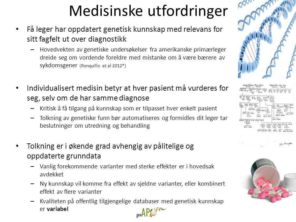 Medisinske utfordringer