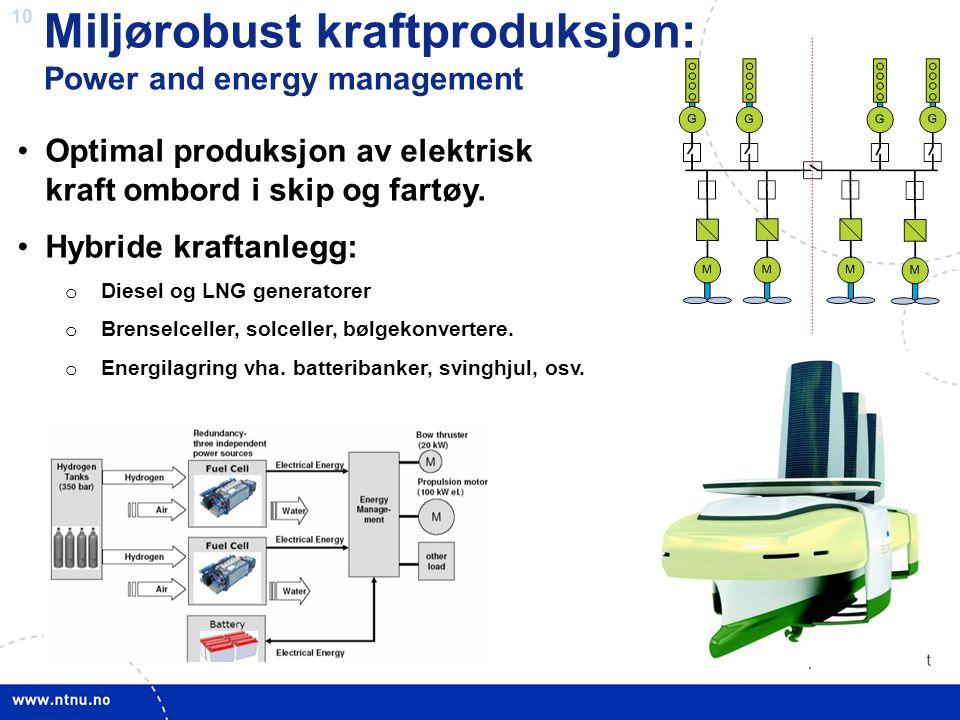 Miljørobust kraftproduksjon:
