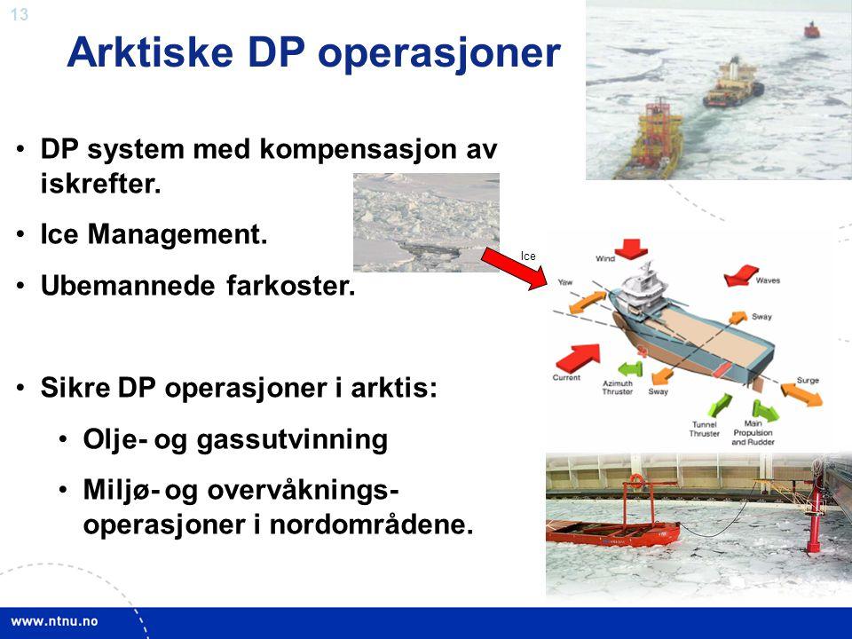 Arktiske DP operasjoner