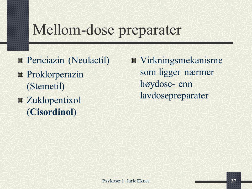 Mellom-dose preparater