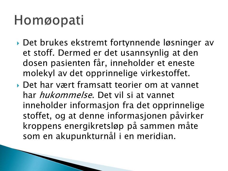 Homøopati