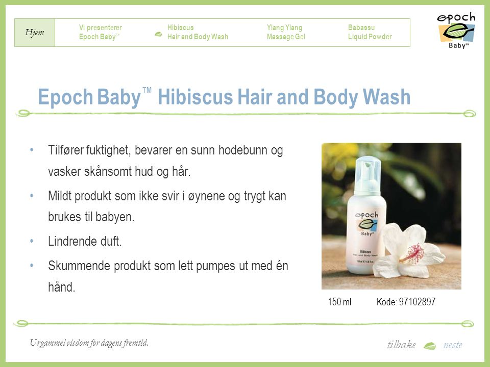 Epoch Baby™ Hibiscus Hair and Body Wash