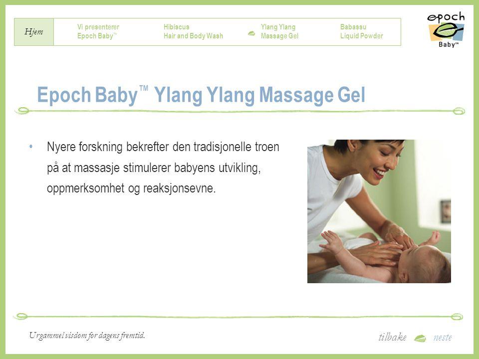 Epoch Baby™ Ylang Ylang Massage Gel