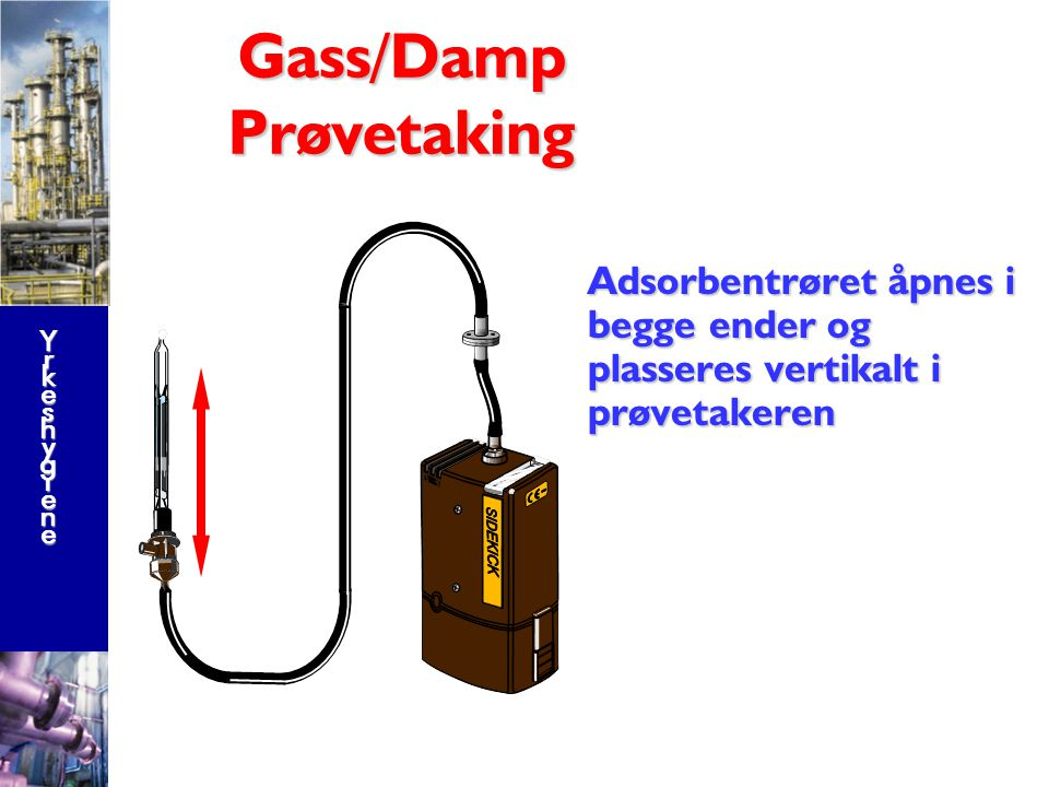 Gass/Damp Prøvetaking