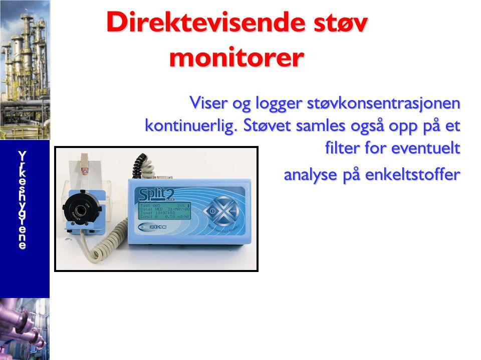 Direktevisende støv monitorer