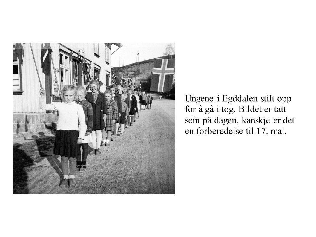 Ungene i Egddalen stilt opp