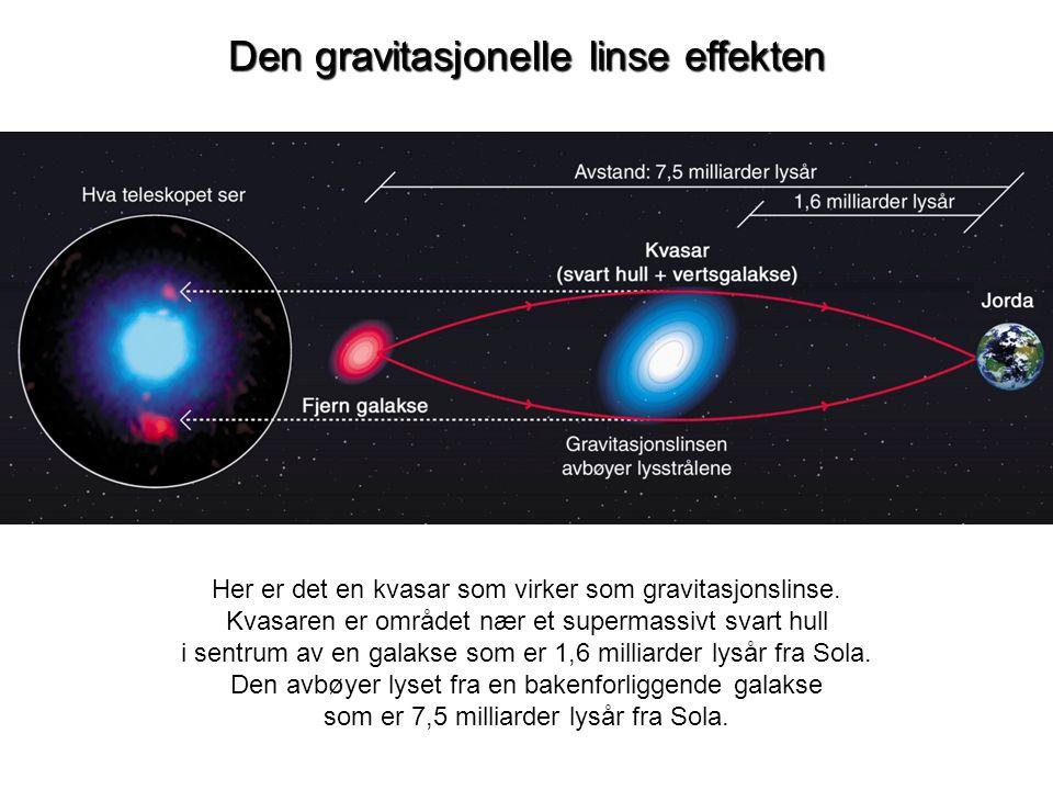 Den gravitasjonelle linse effekten