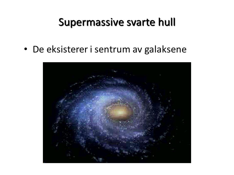 Supermassive svarte hull
