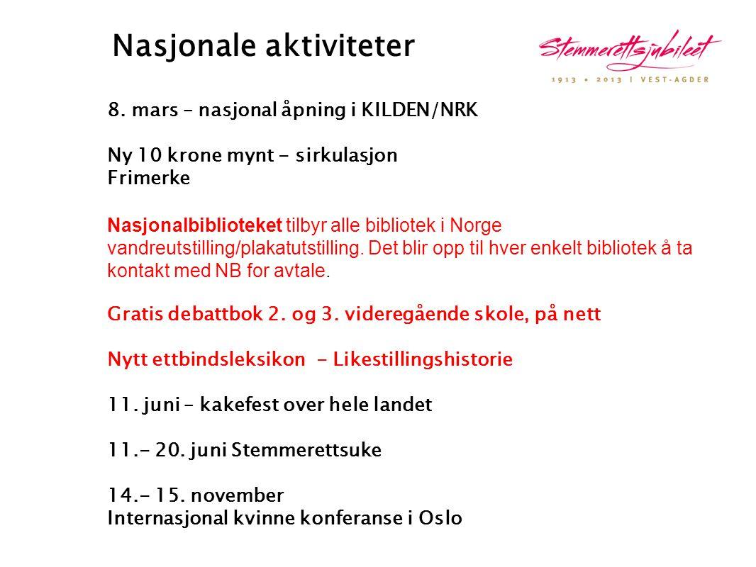 Nasjonale aktiviteter
