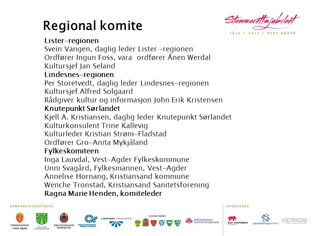 Regional komite Lister-regionen