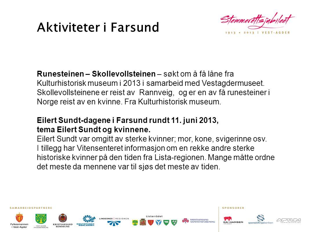 Aktiviteter i Farsund