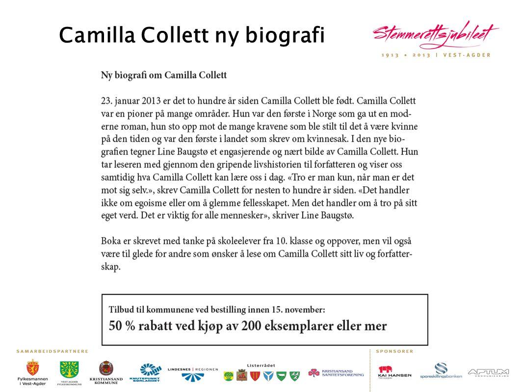 Camilla Collett ny biografi