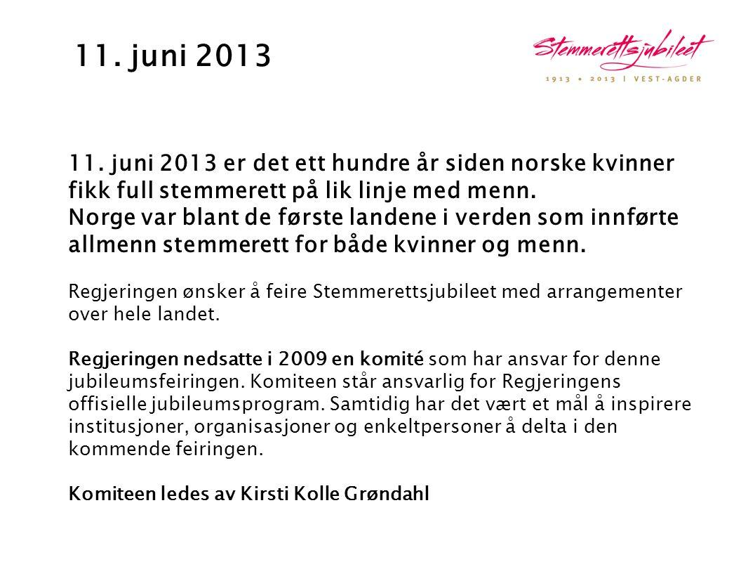 11. juni 2013