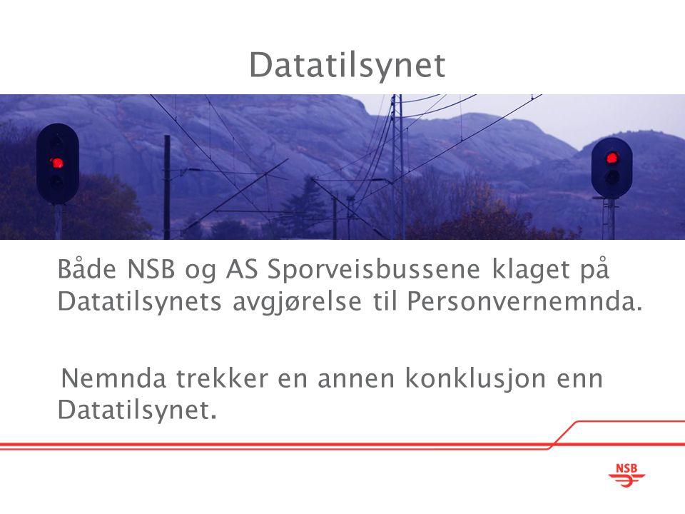Datatilsynet Nemnda trekker en annen konklusjon enn Datatilsynet.