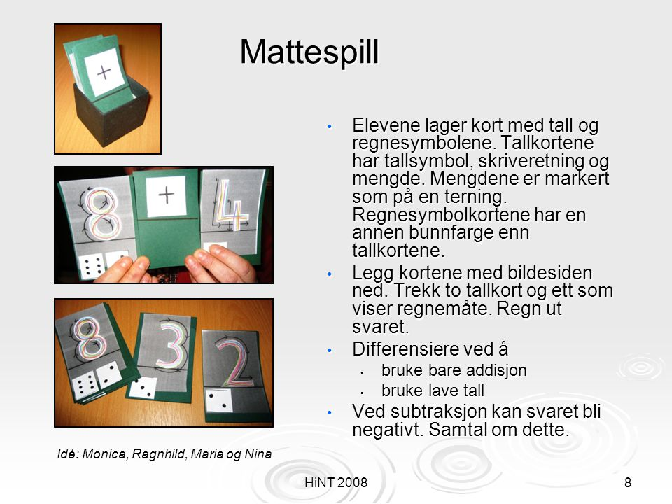 Mattespill