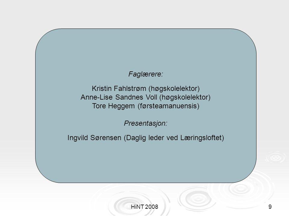Kristin Fahlstrøm (høgskolelektor)