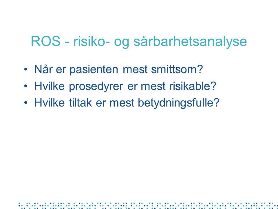ROS - risiko- og sårbarhetsanalyse
