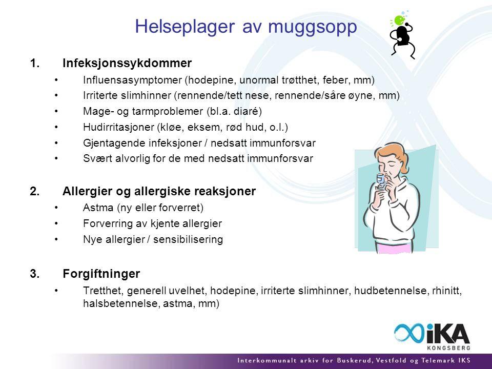 Helseplager av muggsopp
