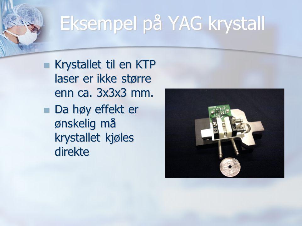 Eksempel på YAG krystall