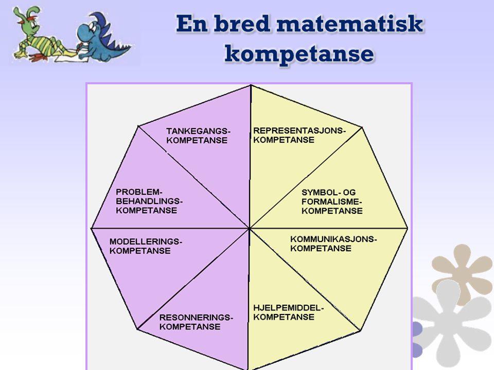 En bred matematisk kompetanse
