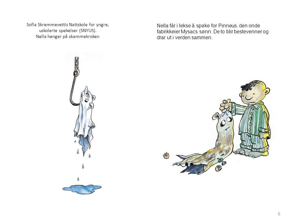 Sofia Skremmevettis Nattskole for yngre, uskolerte spøkelser (SNYUS)