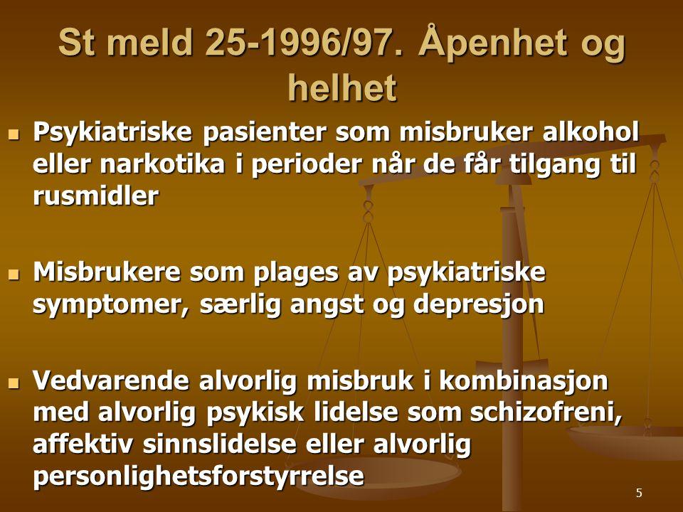 St meld 25-1996/97. Åpenhet og helhet