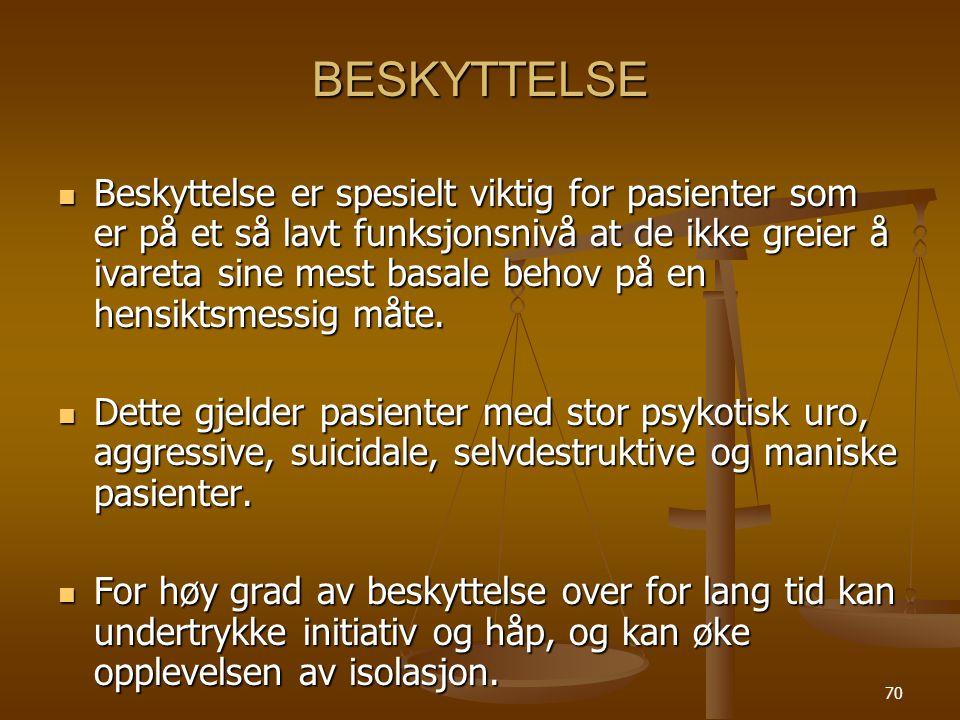 BESKYTTELSE