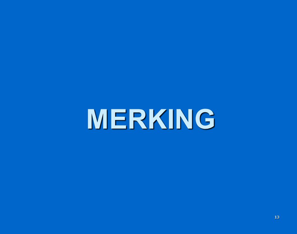 MERKING