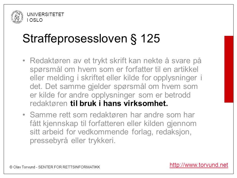Straffeprosessloven § 125