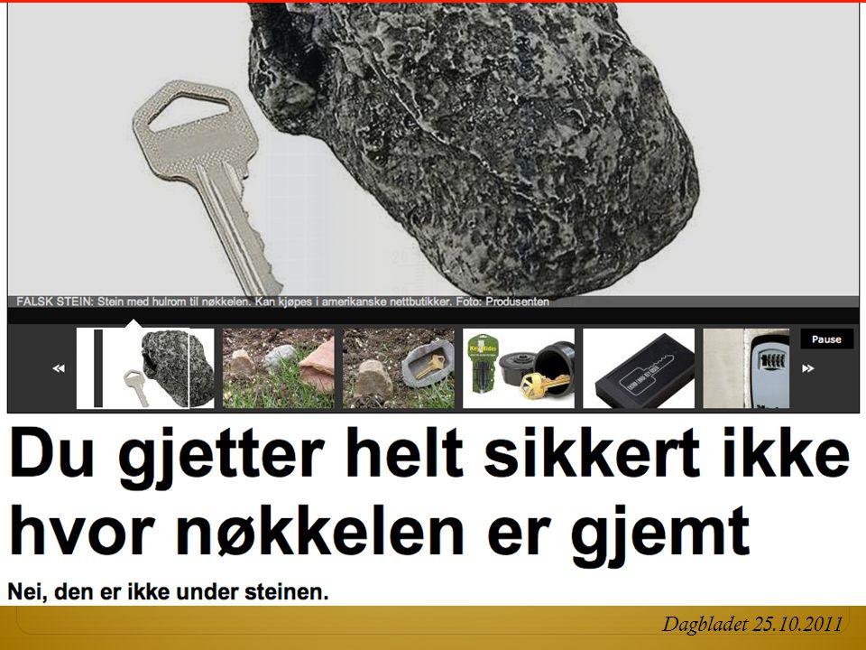 Dagbladet 25.10.2011