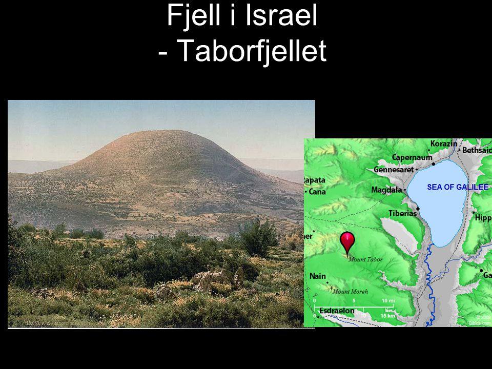 Fjell i Israel - Taborfjellet