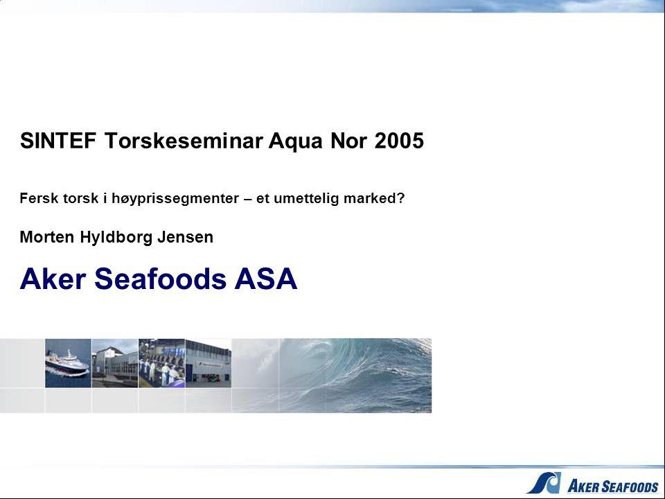 Morten Hyldborg Jensen Aker Seafoods ASA
