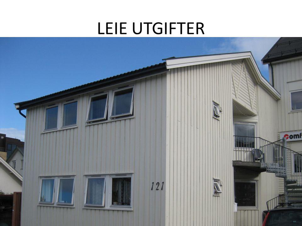 LEIE UTGIFTER
