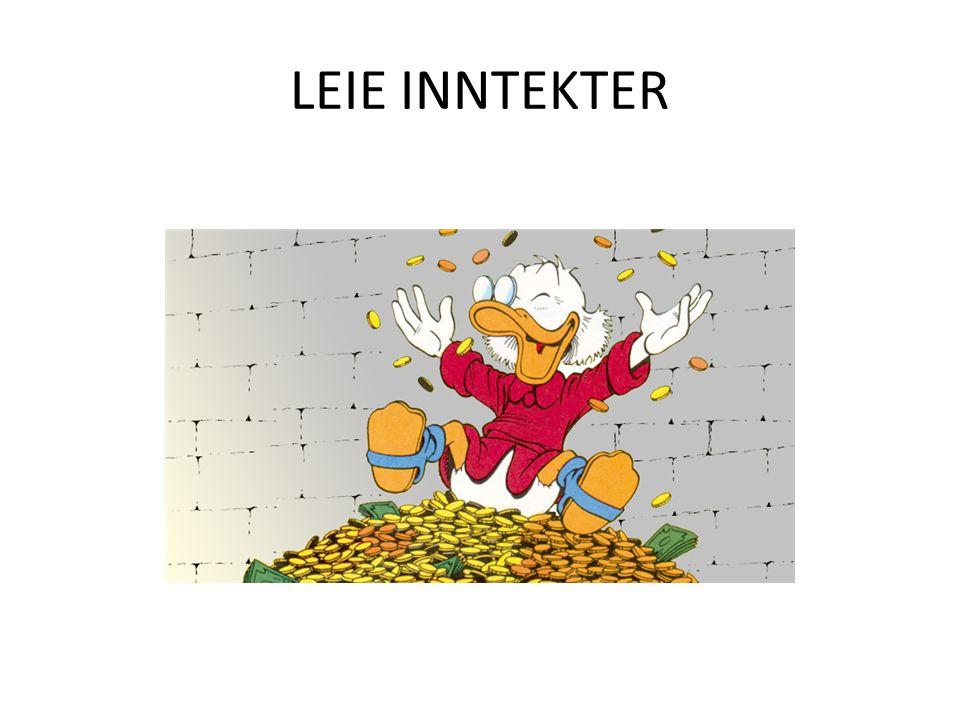 LEIE INNTEKTER