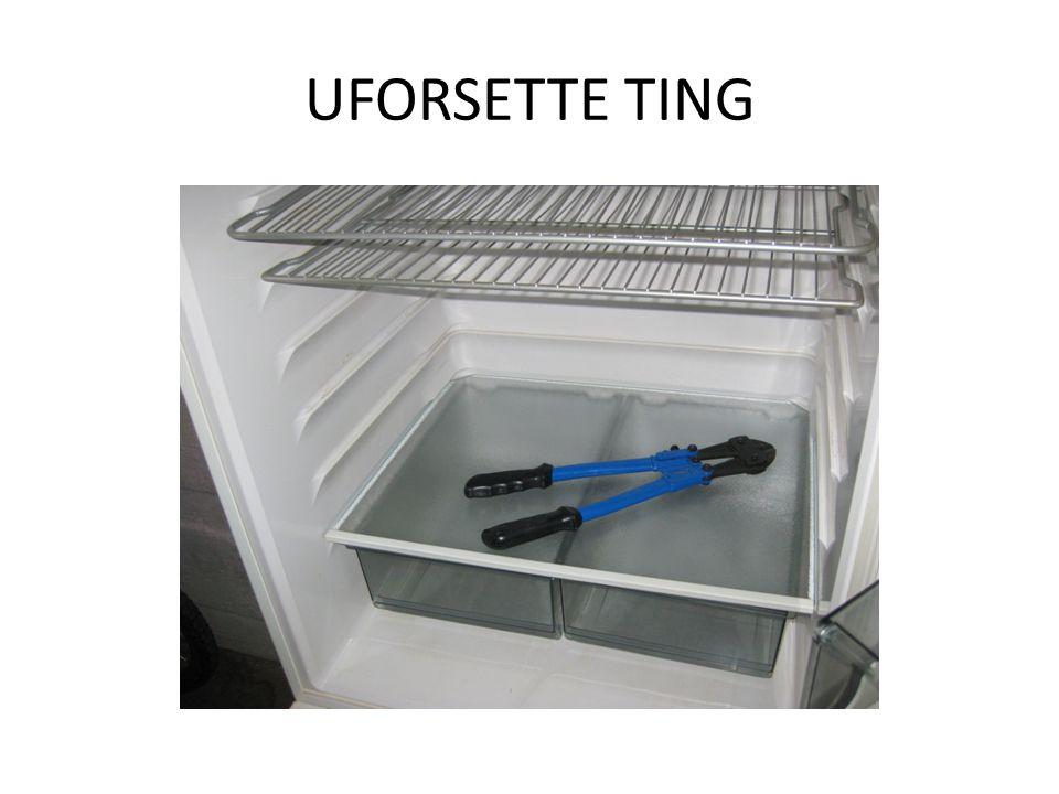 UFORSETTE TING