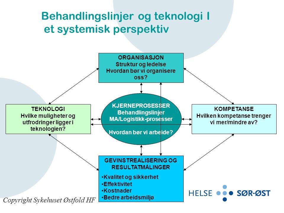 Behandlingslinjer og teknologi I et systemisk perspektiv