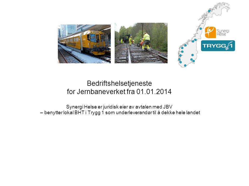 Bedriftshelsetjeneste for Jernbaneverket fra 01.01.2014