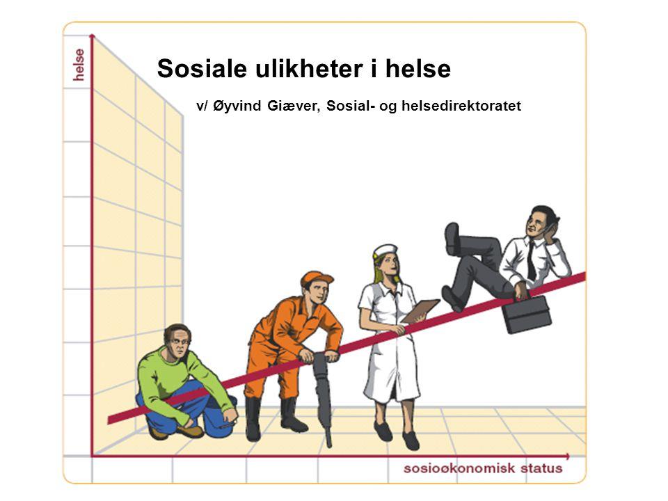 Sosiale ulikheter i helse