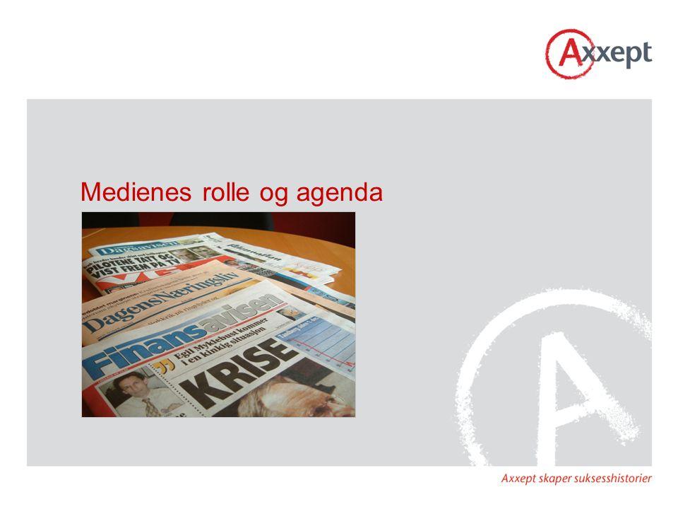 Medienes rolle og agenda