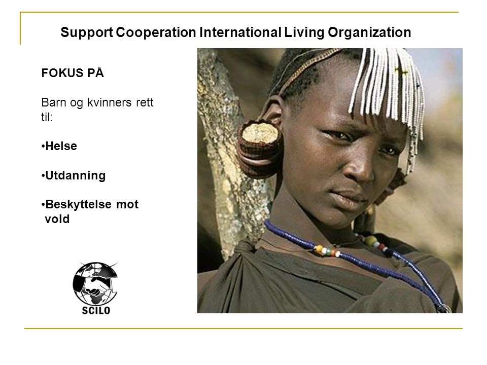 Support Cooperation International Living Organization