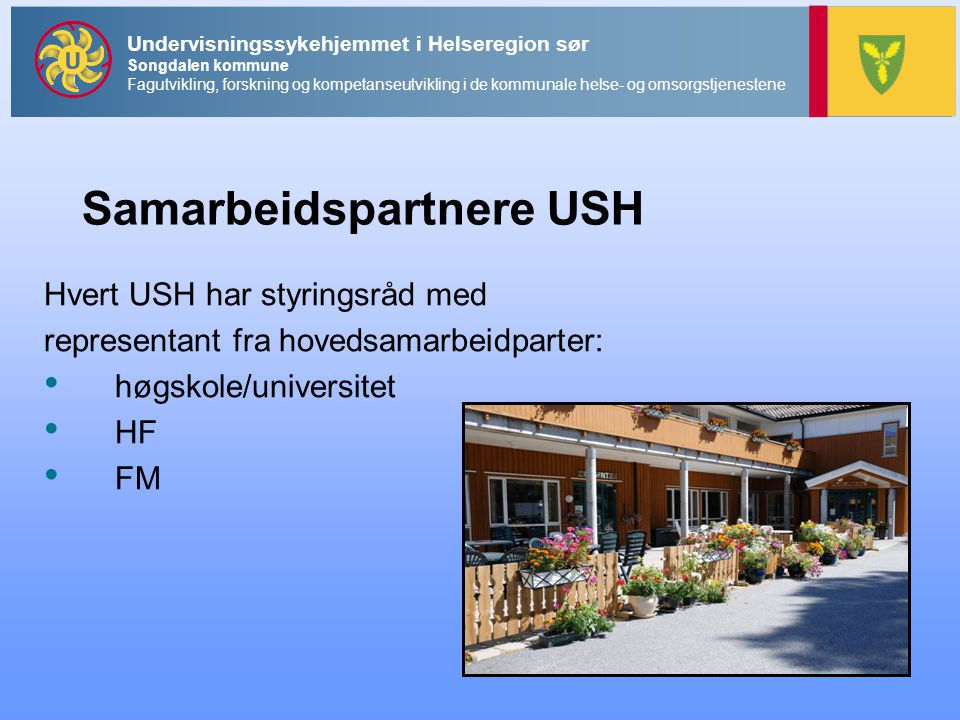 Samarbeidspartnere USH