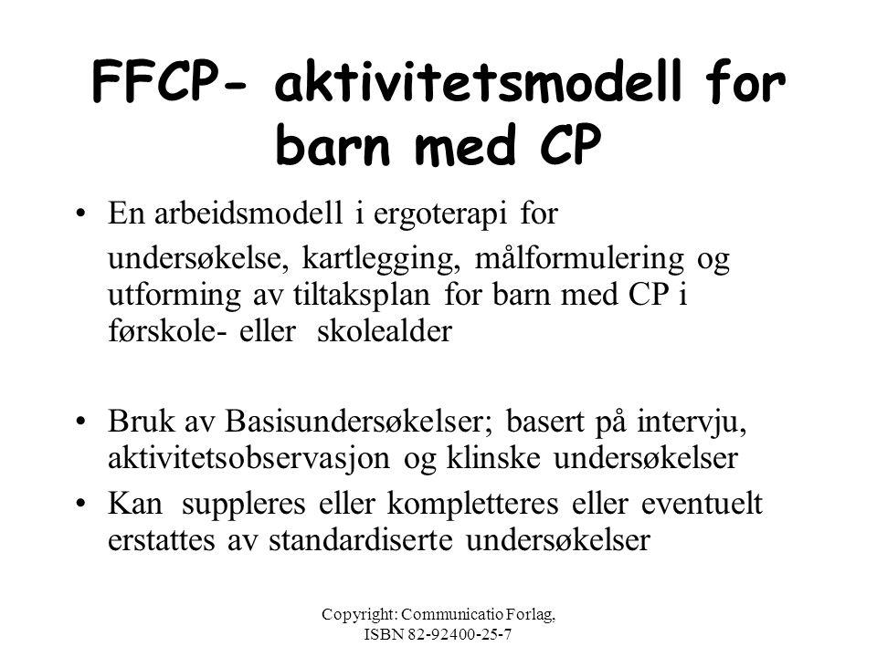 FFCP- aktivitetsmodell for barn med CP