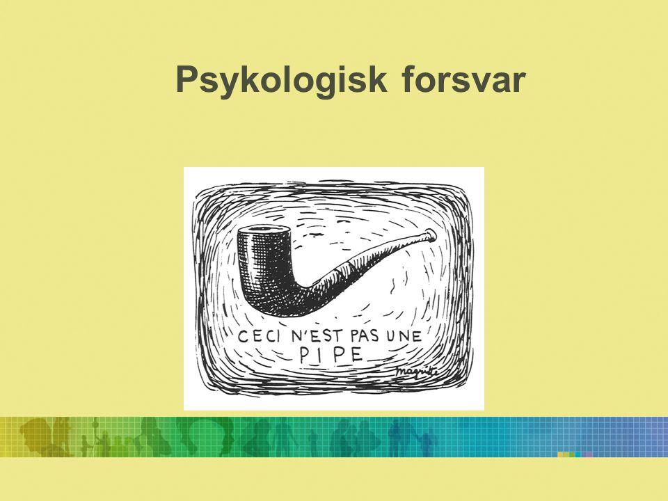 Psykologisk forsvar