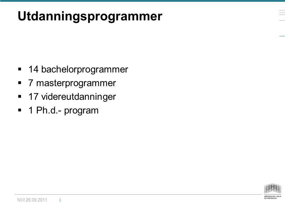 Utdanningsprogrammer
