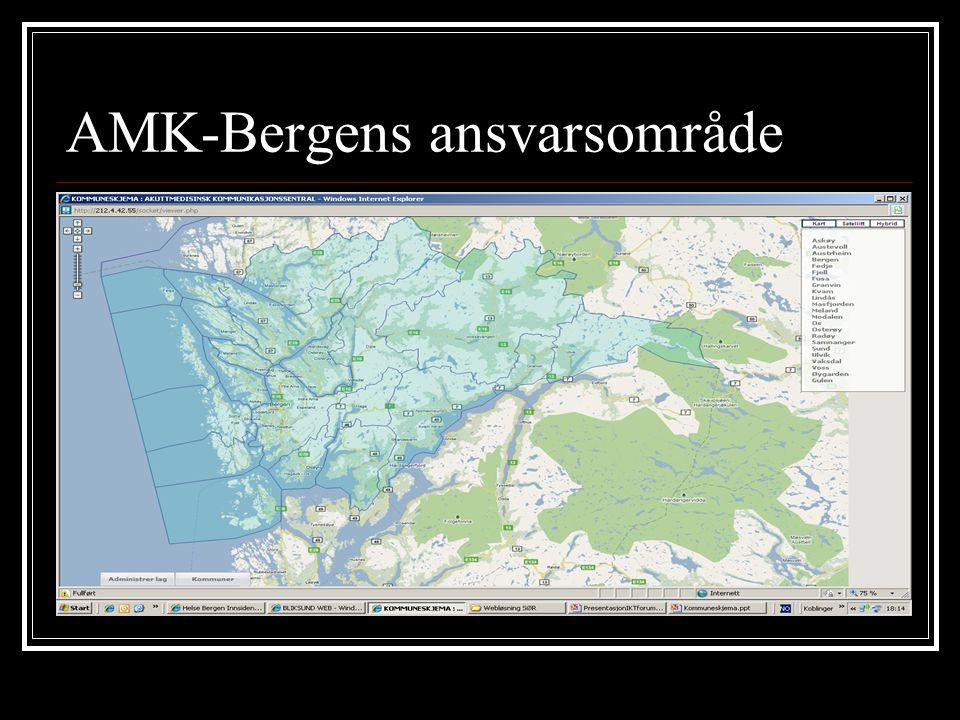 AMK-Bergens ansvarsområde