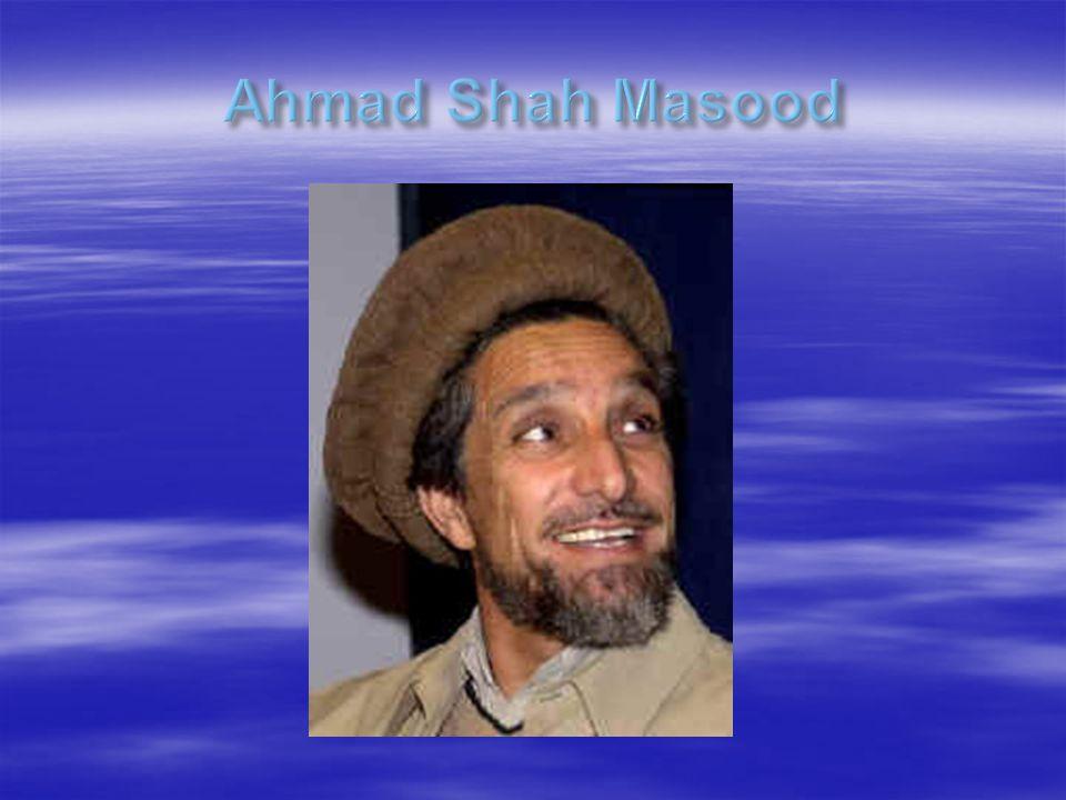 Ahmad Shah Masood