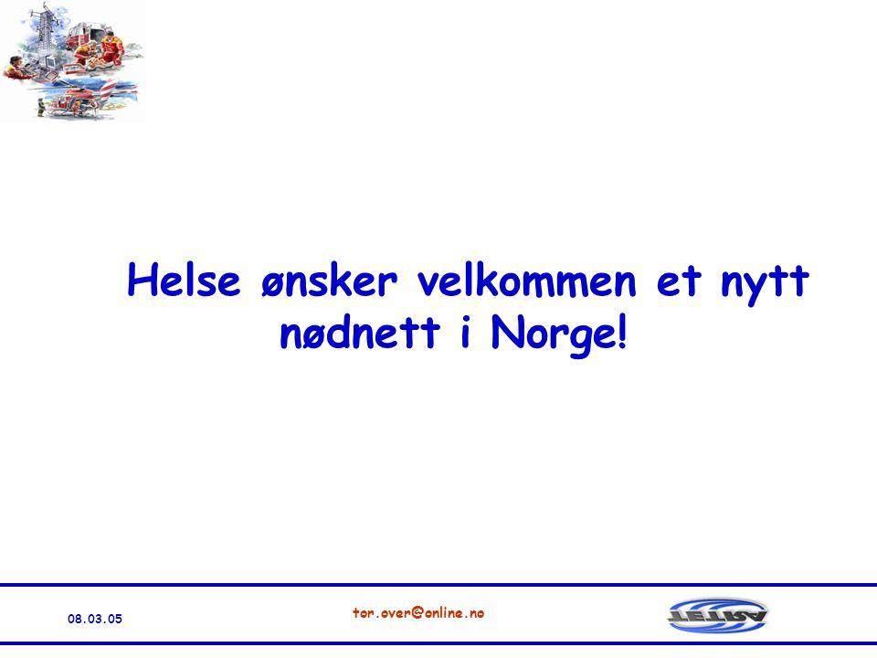 Helse ønsker velkommen et nytt nødnett i Norge!
