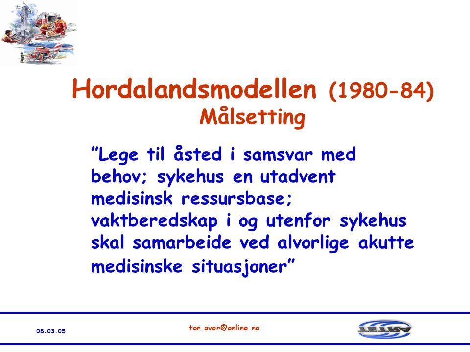 Hordalandsmodellen (1980-84)