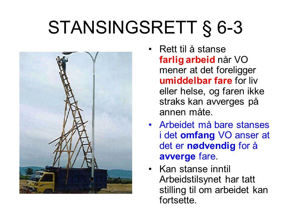 STANSINGSRETT § 6-3